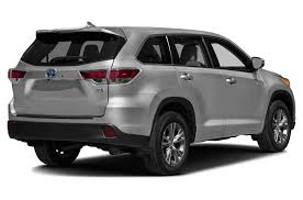 toyota car 2016 2016 toyota highlander hybrid price photos reviews u0026 features