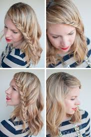 braided pinup hairstyles french lace fringe braid stylish casual braided bangs french
