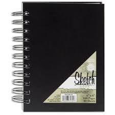 4x6 photo book pro spiral sketch book 4x6 80 sheets home kitchen