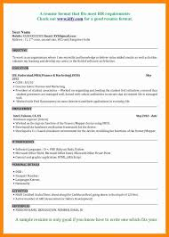 Mba Resume Format by Resume Format For Mba Marketing Fresher Awesome Mba Marketing