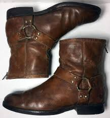 motorcycle harness boots frye 76871 phillip harness leather motorcycle women u0027s 9 5 brown