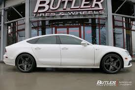 audi a7 r audi a7 with 20in vossen cv3 r wheels exclusively from butler