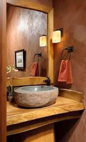 Log Home Bathroom Ideas Colors 59 Best Pebble Rustic Bathrooms Images On Pinterest Rustic
