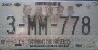 formato de pago del estado de mexico 2015 cómo y dónde tramitar las placas de mi auto nuevo