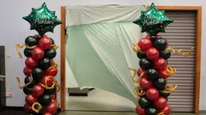 Decoration Christmas Stage by Christmas Balloon Decor