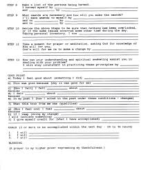 worksheets alcoholics anonymous worksheets atidentity com free