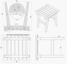 bar woodworking plans chairs