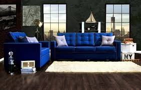 Blue Sofas And Loveseats Perfect Blue Couches On Furniture With Surripui Net