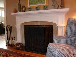 fireplace fair image of home interior decoration using white