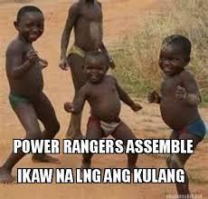 Ikaw Na Meme - meme maker power rangers assemble ikaw na lng ang kulang