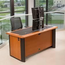 Desk For Dual Monitor Setup Switch Dual Monitor Arm Caretta Workspace