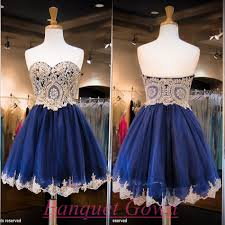 2016 luxurious sweetheart short homecoming dress crystals