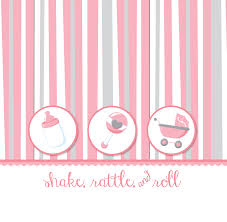 shake rattle and roll baby shower shake rattle roll pink notebook favor baby shower notebook favors