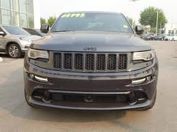 grey jeep grand cherokee 2016 used 2016 jeep grand cherokee srt for sale in abbotsford british