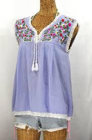 periwinkle blouse sleeveless blouses la marbrisa peasant tank top by siren