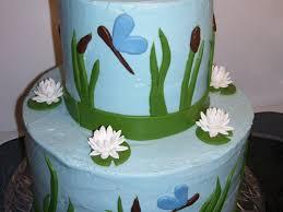 frog babyshower cake cakecentral com