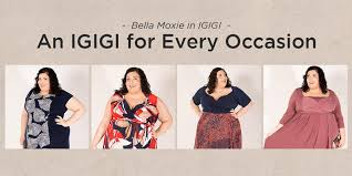 designer plus size clothing sizes 14 to 36 igigi