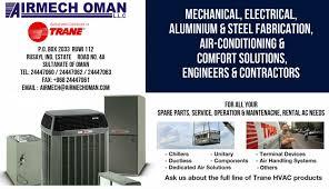 Trane Comfort Solutions Airmech Oman Llc Oman Made
