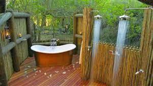 100 outdoor shower ideas 2017 glass wood log bamboo stone design