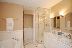 bathroom terrific decorating ideas using rectangular cream