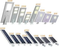all in one solar street light 60w all in one solar power street light led street light price list