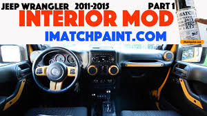 custom jeep interior jeep wrangler dozer interior mod part 1 imatchpaint com youtube