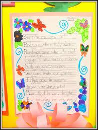 acrostic thanksgiving poem patties classroom springtime acrostic poems and pom pom flowers