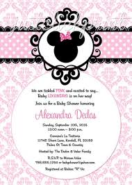 baby shower invitations interesting free printable minnie mouse