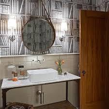 Repurposed Bathroom Vanity by Antique Repurposed Powder Room Vanity With Antique Brass Faucet