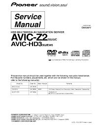 pioneer dex p99rs ew5 crt4374 sm service manual download