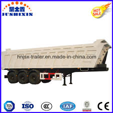 hydraulic type 3 axles dump semi trailer buy product on