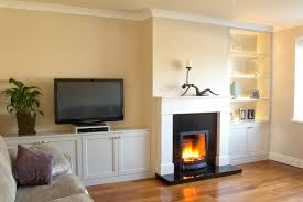 Fitted Living Room Furniture Fitted Sitting Room Units With Built In Led Lights