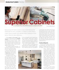 recognition superior cabinets