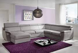 canapé 6 places canapé d angle shane en u 6 places cuir ou tissu