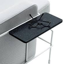 plateau pour canapé tablette accoudoir pour assises traffic gris anthracite