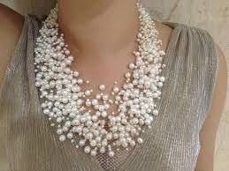 trendy pearl necklace images 30 layers wedding pearl necklace starriness floating freshwater jpg