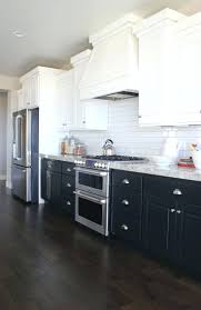 kitchen cabinets two tone kitchen cabinetsa concept still in