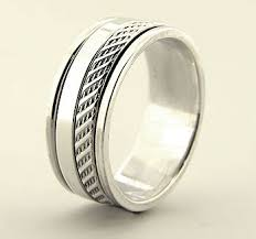 spinner rings solid 925 sterling silver spinner rings