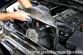 bmw e39 5 series cooling fan replacement 1997 2003 525i 528i