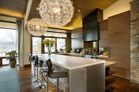 bar stools for kitchen islands modern kitchen island with bar stool wrights road house interior