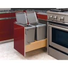 kitchen extraordinary lowes kitchen trash cans home depot garbage