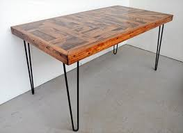 wood table with metal legs wood dining table with metal legs remarkable steel legs for
