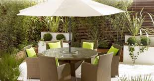 Round Stone Patio Table by Patio U0026 Pergola Round Outdoor Coffee Table Patio Table Umbrella