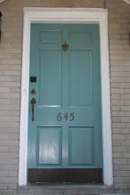 Teal Front Door by Amazing Painting Front Door To Inspire You Classy Door Design
