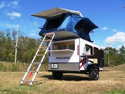 Gidget Bondi For Sale by Teardrop Camper Trailer With Roof Top Tent Sleeps 4 Cool Idea