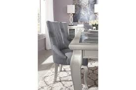 Silver Dining Table And Chairs Coralayne Dining Room Chair Ashley Furniture Homestore