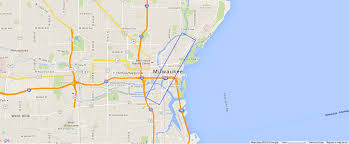Map Central Park Central Park Nyc Size Relative To Milwaukee Milwaukee