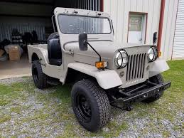 jeep mitsubishi made by mitsubishi 1987 willys jeep cj3b military for sale