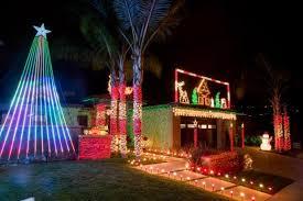 christmas light display to music near me laguna niguel homeowner spreads cheer through holiday light display