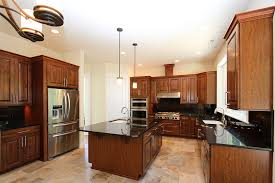 kitchen island black granite island top cherry wood kitchen